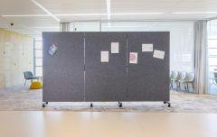 Chameleon Harmonica Wall 195x354 cm en 3 panneaux