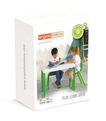 Ensemble table et chaise Ergos ONE pour enfants