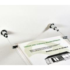 Système d'affichage sur câbles - 3  A4