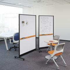 PLUS Information Board - Tableau Mobile double face 125x184 cm