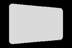 Tableau blanc émaillé Essence Legamaster 119,5x200 cm neutre